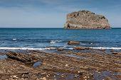 Coast In San Juan De Gaztelugatxe, Bizkaia, Basque Country, Spain