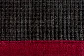 Red and black pattern fabric texture