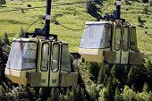 Two Teleferic of Monetier Les Bains