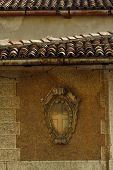 Asolo Italy, Clay Tiles & the Cross