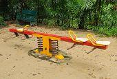 Rocking Horse Playground For Children