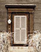 Sepia Door Softened