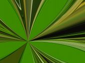 green abstract patterns