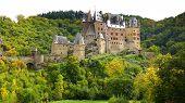 Picturesque nature panorama with Burg Eltz
