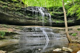 picture of mauri  - Still House Falls Park Maury County Tennessee  - JPG