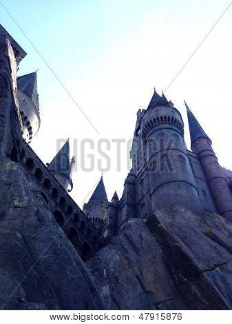 Harry Potter Land Castle