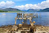 image of bute  - Port Bannatyne on the Isle of Bute Scotland UK - JPG