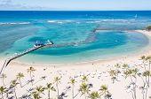 Famosa playa de Waikiki