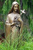 Bronze Statue of Virgin Mary