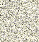 XXL-Doodle Icons Set Nr. 4