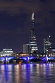 The Shard And Southwark Bridge In London