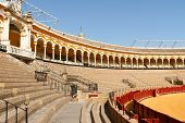 Plaza De Toros In Seville, Spain