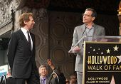 LOS ANGELES - JUN 23:  Jerry Bruckheimer & Robert Iger arrives to the Walk of Fame Honors Jerry Bruc