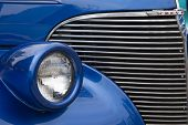 1939 Chevy Coupe Streetrod Grill View