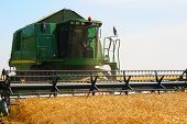 Harvester For Harvesting Wheat, Ukraine
