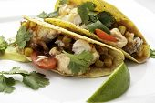 Fish Tacos using Corn Tortilla