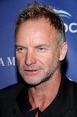 Sting  at Oceana's 2008 Partners Award Gala. Private Residence, Pacific Palisades, CA. 10-18-08
