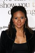Tracie Thoms  at the Los Angeles Premiere of 'Zack and Miri make a porno'. Grauman's Chinese Theater, Hollywood, CA. 10-20-08