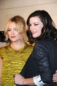 Kate Hudson and Liv Tyler  at the Burberry Beverly Hills Store Re-Opening. Burberry Beverly Hills St