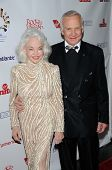 Buzz Aldrin and wife Lois  at 'Rock The Kasbah' Benefiting Virgin Unite, Hollywood Roosevelt Hotel, Hollywood, CA. 10-23-08
