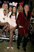 Jayde Nicole and Hugh M. Hefner  at the Playboy Mansion Halloween Party Preview. Playboy Mansion, Ho