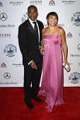 Duane Martin and Tisha Campbell-Martin  at the 30th Annual Carousel of Hope Ball to benefit the Barbara Davis Center for Childhood Diabetes, Beverly Hilton, Beverly Hills, CA. 10-25-08