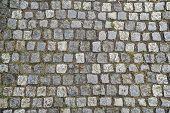 Cobbled Stones Road Texture