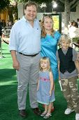 Andy Richter and family  at the Los Angeles Premiere of 'Madagascar Escape 2 Africa'. Mann Village Theatre, Westwood, CA. 10-26-08