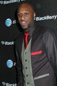 Lamar Odom  at the Launch Party for Blackberry Bold. Private Residence, Los Angeles, CA. 10-30-08