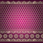 Indian Background Pattern