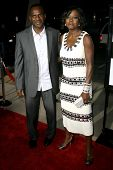 Julius Tennon and Viola Davis  at the Los Angeles Premiere of 'Doubt'. AMPAS, Beverly Hills, CA. 11-18-08