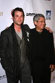 Noah Wyle and Dean Devlin  at the TNT Wrap Party for 'The Librarian' and 'Leverage'. Cabana Club, Ho