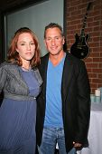 Jenny McShane and Ken Siporin at an AMA Gifting Suite by ShoeDazzle.com, Gibson Guitars, Beverly Hills, CA 11-21-08