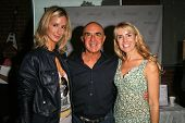 Victoria Hervey, Robert Shapiro and Julia Verdin  at an AMA Gifting Suite by ShoeDazzle.com, Gibson Guitars, Beverly Hills, CA 11-21-08