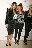 Robin Antin and Melody Thornton   at the Launch of the Pusscat Dolls Lingerie '...Shhh'. Bebe, Bever