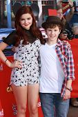 Ariel Winter and Nolan Gould at the Grand Opening of