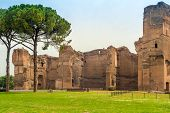 Caracalla Baths Ruins