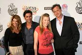 Lori Loughlin and John Stamos with Jodie Sweetin and Bob Saget  at the