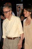 Woody Allen and Soon Yi Previn  at the Los Angeles Premiere of