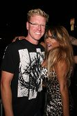 Jake Busey and Traci Bingham at the Whos Next Whats Next Fashion Show. Social Hollywood, CA. 08-13-0