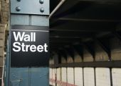 picture of nyse  - stock photo new york wall street usa - JPG