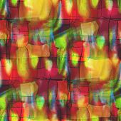 artist grunge texture, watercolor green red