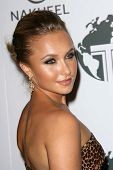 Hayden Panettiere  at a party to introduce the Trump Tower Dubai. The Tar Estate, Bel Air, CA. 08-23-08