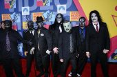 Slipknot  at the 2008 MTV Video Music Awards. Paramount Pictures Studios, Los Angeles, CA. 09-07-08