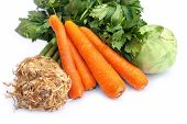 stock photo of kohlrabi  - Carrots - JPG