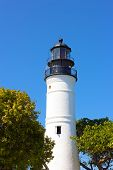 Lighthouse of Key West Florida.