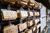 A Lot Of Ema Plaques- Wooden Prayer Tablet