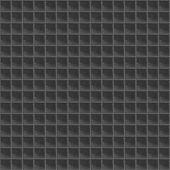 Black Pattern Tetrahedral Mosaic