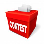 Contest Word On The Red Box