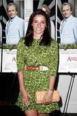 EAST HAMPTON, NEW YORK-JULY 6: Fashion designer Shoshanna Lonstein Gruss attends the premiere of